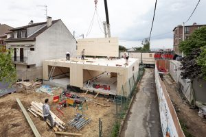 Holzbau in Virty-sur-Seine