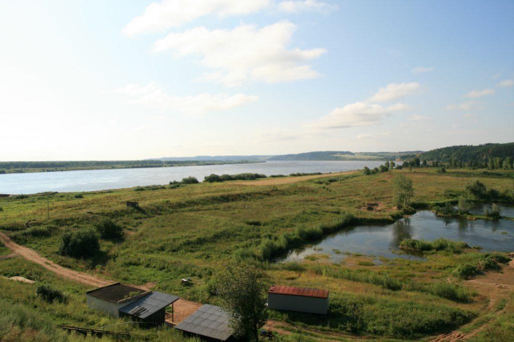 Kama river by Sarapul