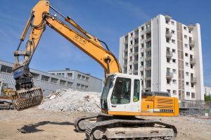 Abriss eines Wohngebäudes in Bagneux