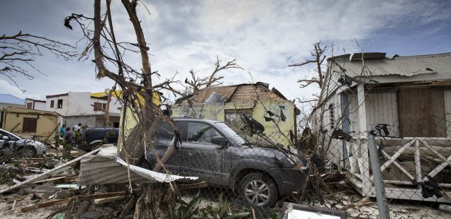 Hurrikanschäden auf Sint-Maarten