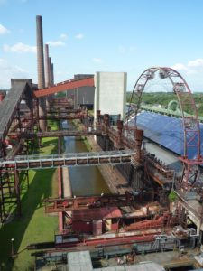 Today's Coal-mine Zollverein in Essen