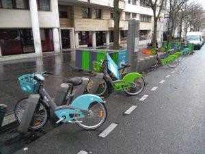 Neue Velib' Stationen im Verzug, Paris