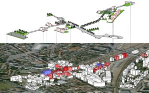 Intervention scheme for the Pasteur quarter