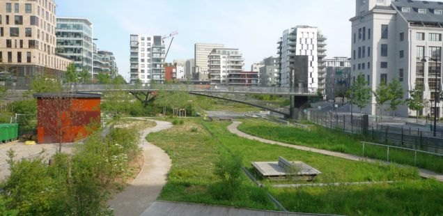 Das neue Stadtviertel Rive Gauche in Paris