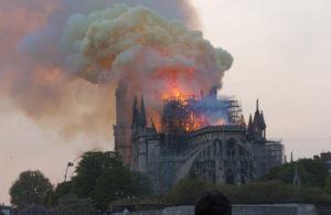 Der Brand von Notre-Dame de Paris
