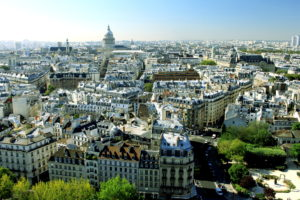 Cityscape of central Paris