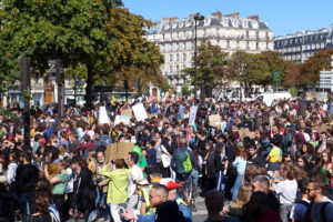 Fridays for Future in Paris in 2019