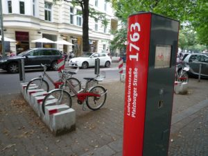 Public bike share service in Berlin