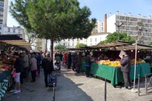 Farmer's market in Paris