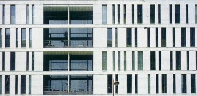 Appartementblock des Pariser Architekten Franck Hammoutène in Paris