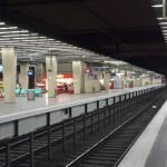 Le RER à La Défense