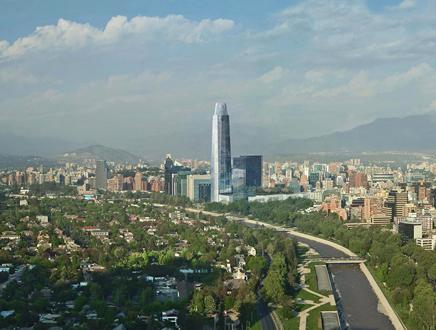 Le Costanera Center à Santiago
