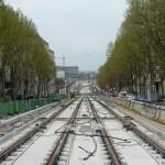 Der Bau der Tramway T3 in Paris