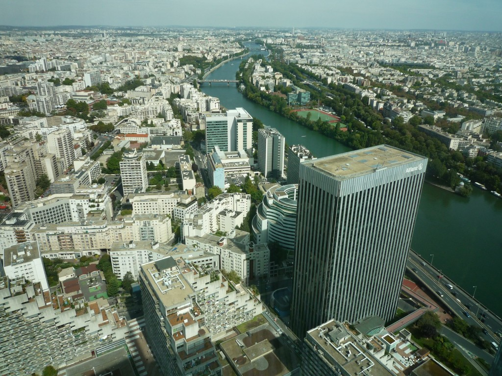 View to the north form the First Tower in Courbevoie