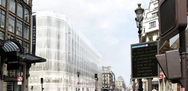 Umbau Samaritaine von SANAA in Paris