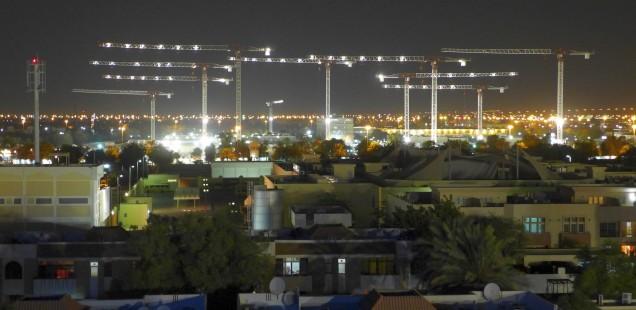 The skyline of Al Ain