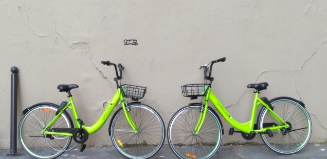 Gobee.bike gibt auf, Paris