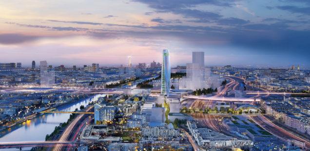 Simulation des Projekts Charenton-Bercy