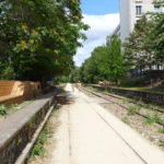 Small belt railway in Paris